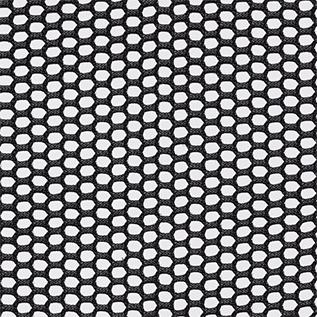 3 D Knit Back Black