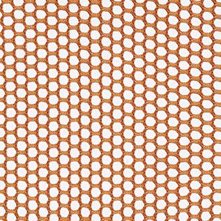 3 D Knit Back Orange