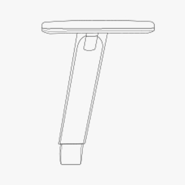 2 D Arms Height Adjustable Fresh Air