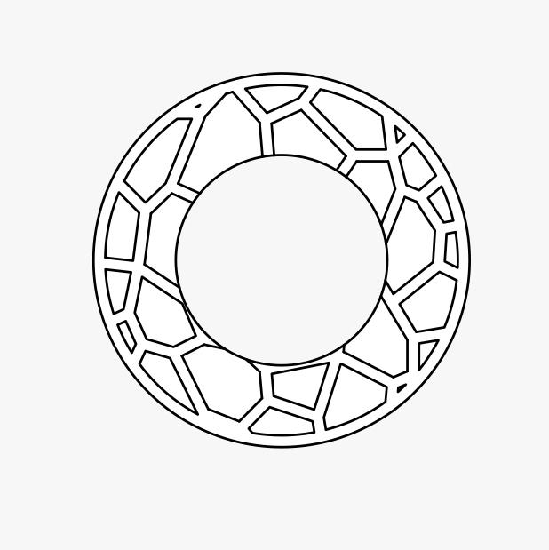 3 D Leaf Swatch Image