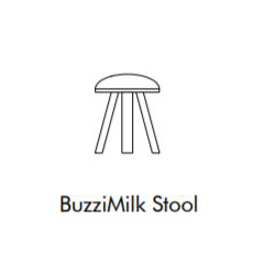 Buzzu Milk Stool