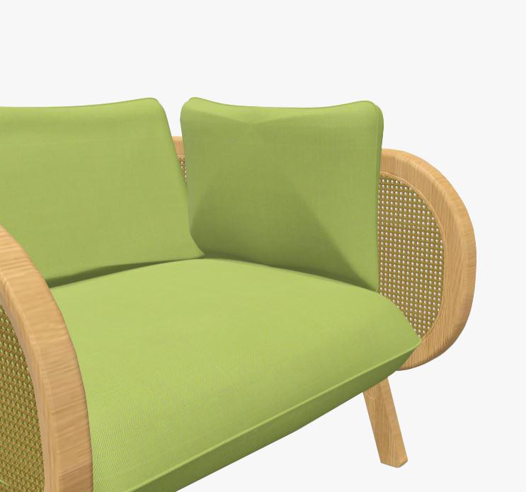 Decorative Cushion Buzzi Cane