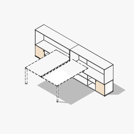 Diamond Evo Bench Variation 4