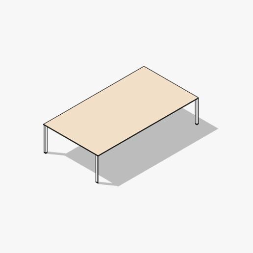 Diamond Evo Meeting Table Variations 1