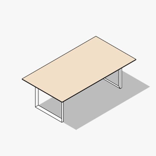 Diamond Evo Meeting Table Variations 3