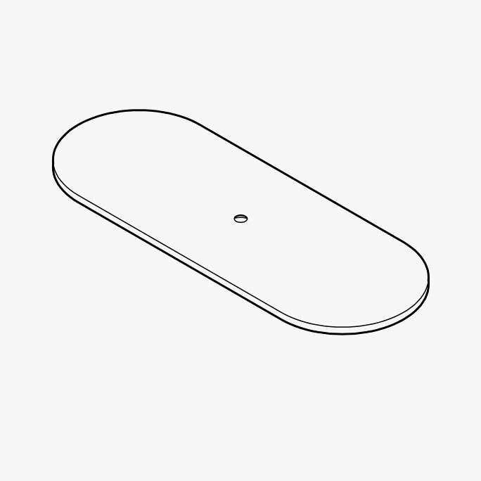 Foot Buzzi Shield Desk