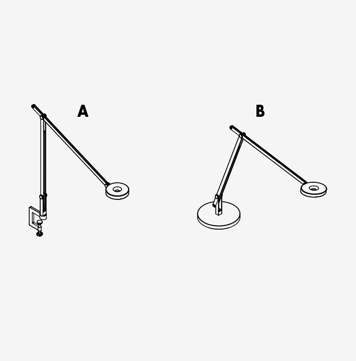 Lamp String With Clamp or Base Rotaliana