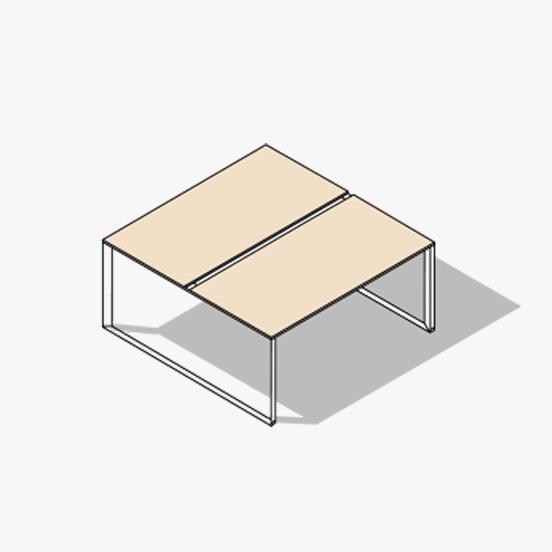 Loop Leg Bench Diamond Evo 1