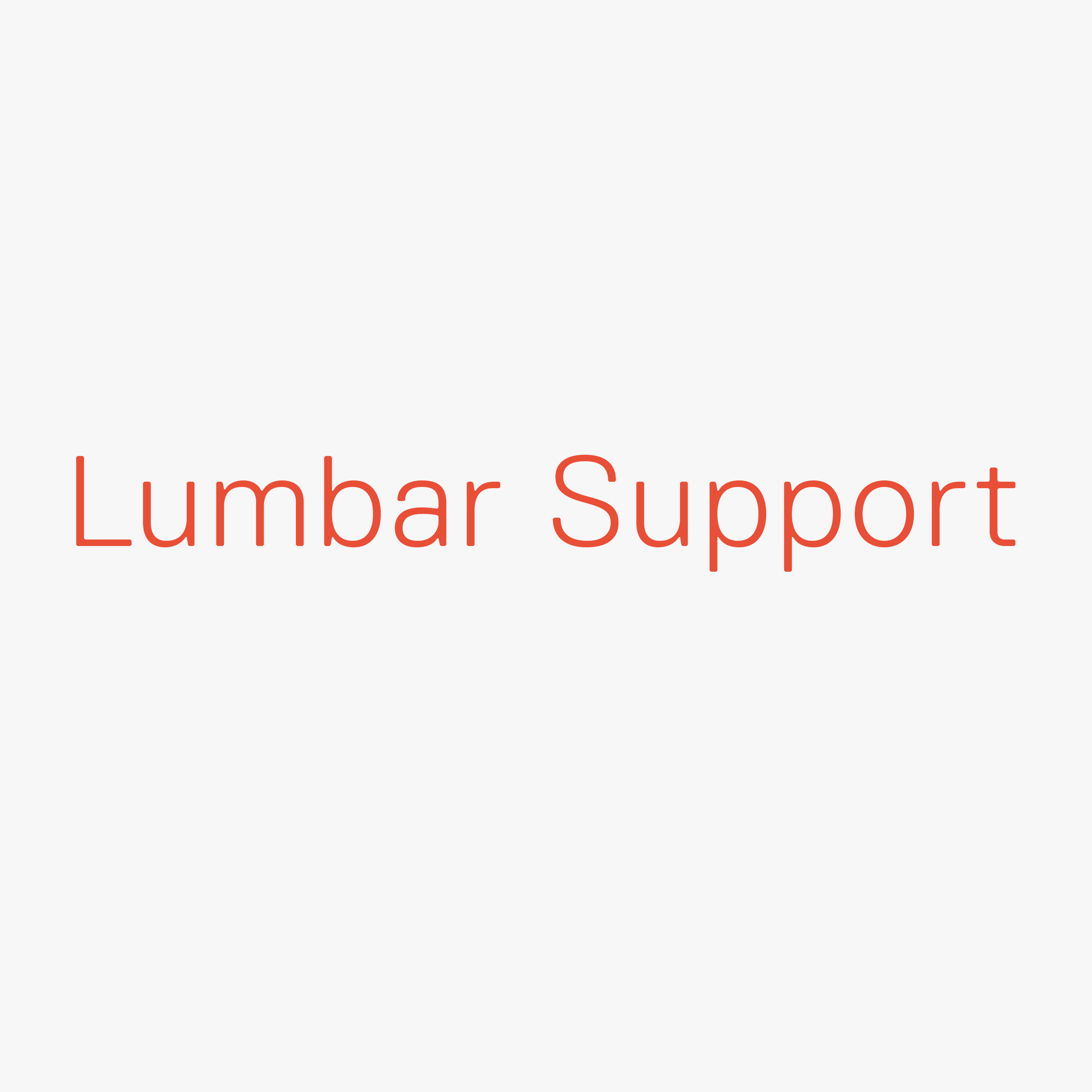 Lumbar Support Spirit Air