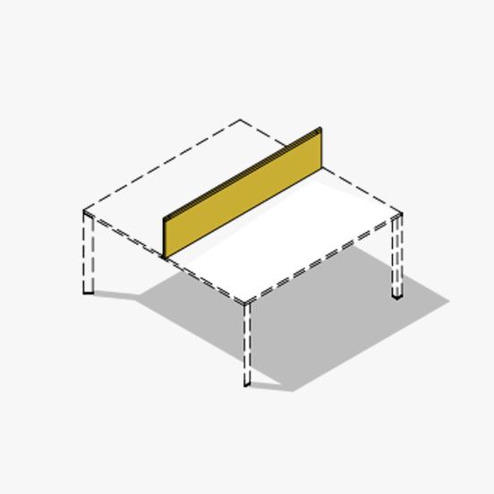 Screen Diamond Bench Desk