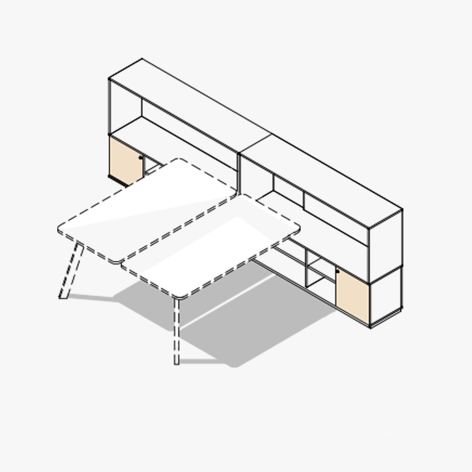 Stay Desk Variations 5