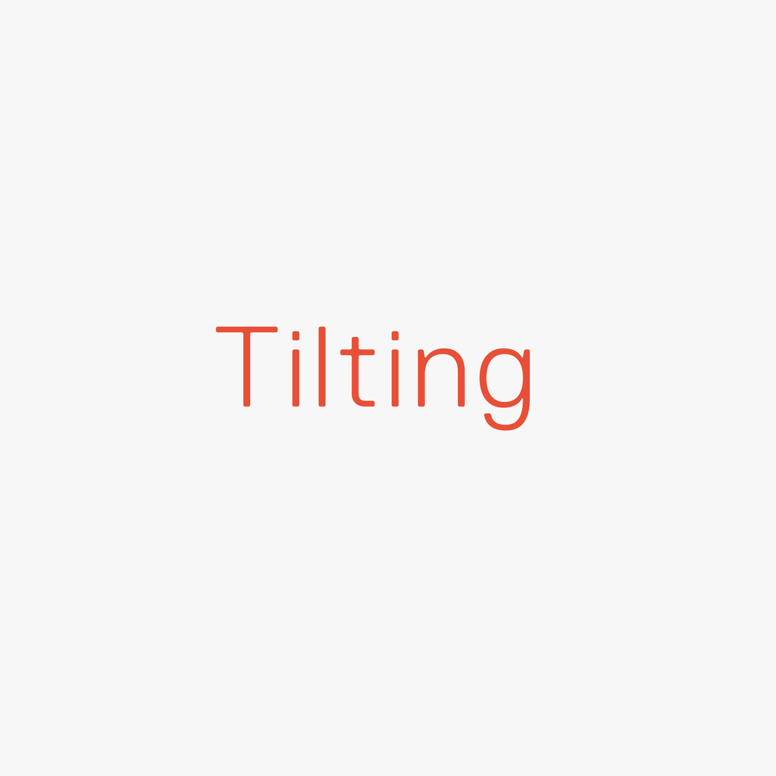 Tilting Classic Swatch