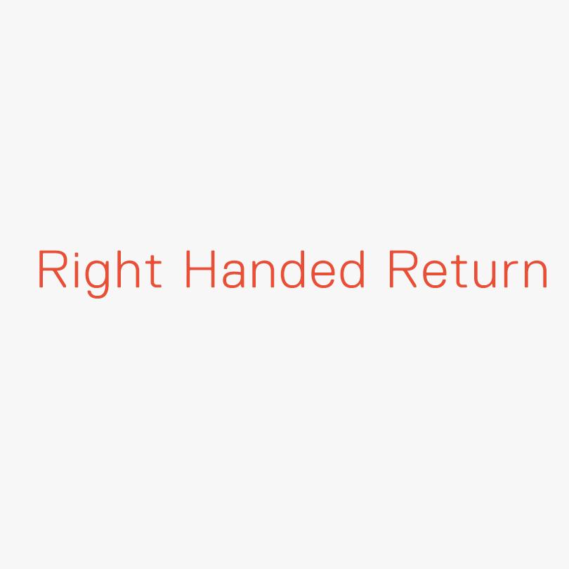 Vogue Desk Right handed return