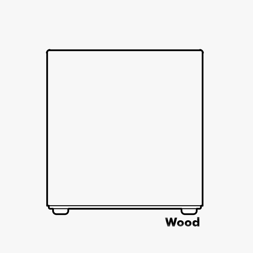 Wood Buzzi Cube
